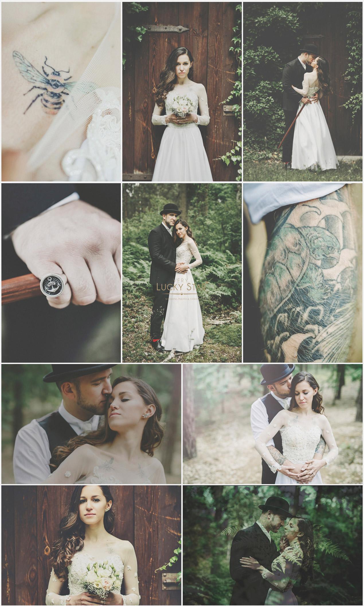 Boho-Vintage-Whimsical-Wedding-Ślub-Fotografia