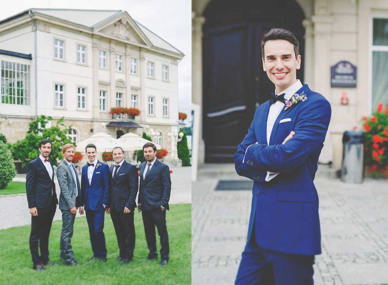 Pałac Brunów, slub, wesele, przygotowania, pana młody