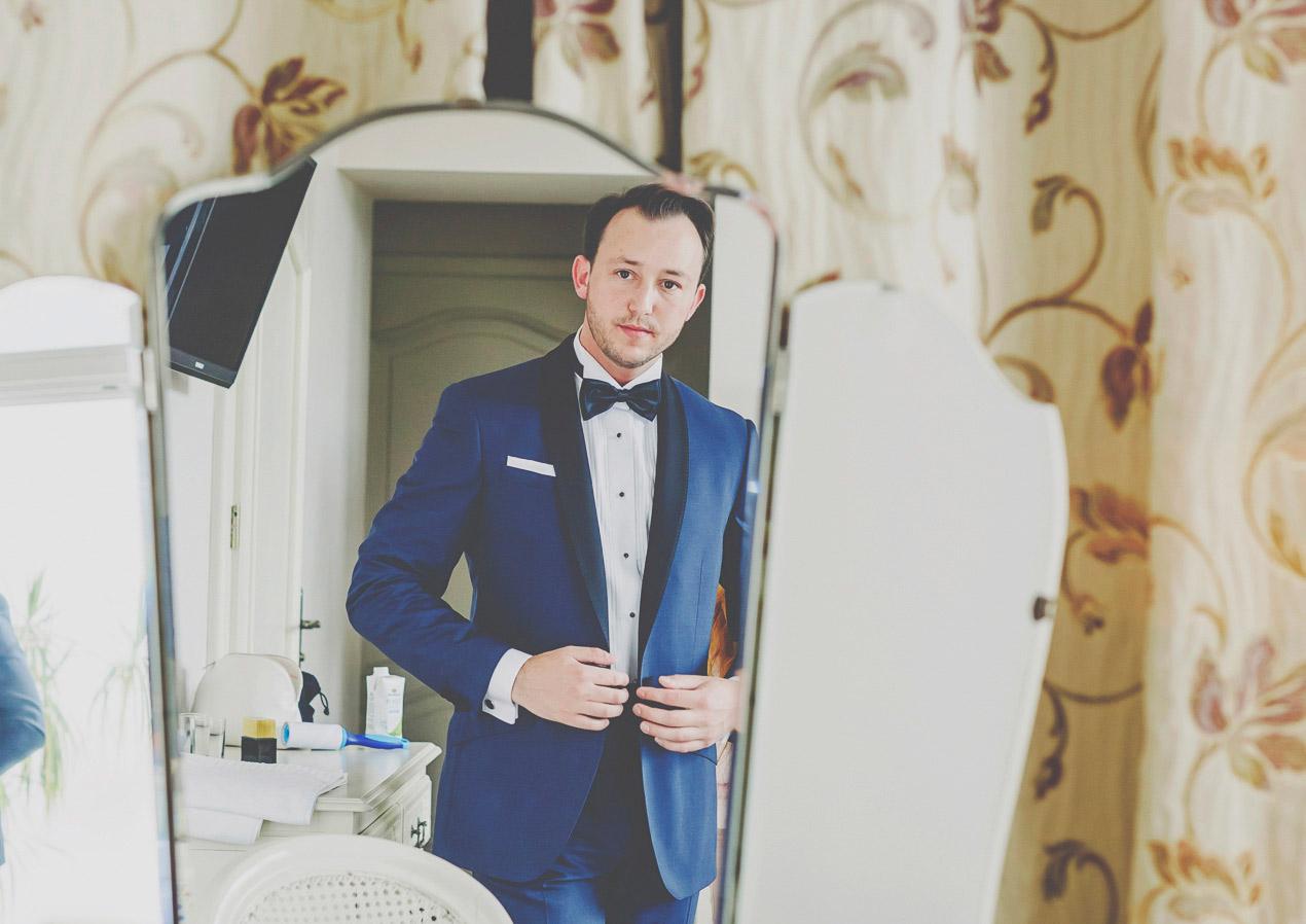 wesele w Pałacu Brunów, przygotowania, pan młody, hochzeit in polen