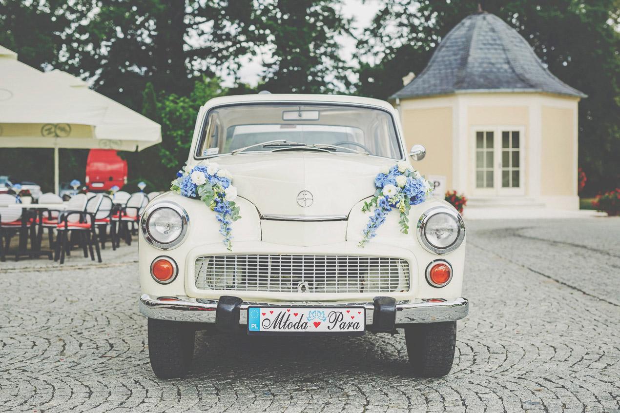 Warszawa do ślubu, samochód