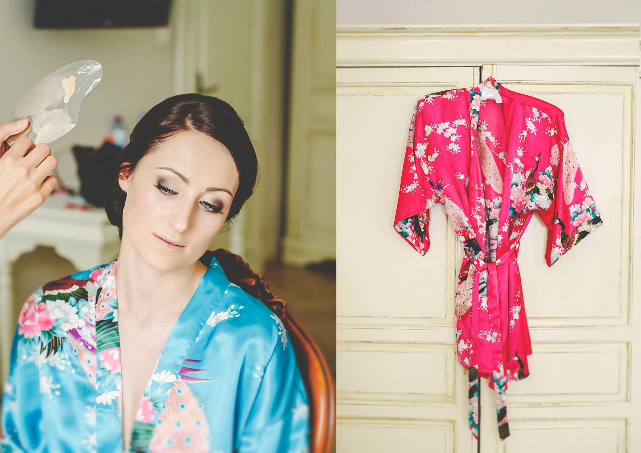 Pałac Brunów, wesele, wedding, przygotowania, panna młoda, szlafroczek