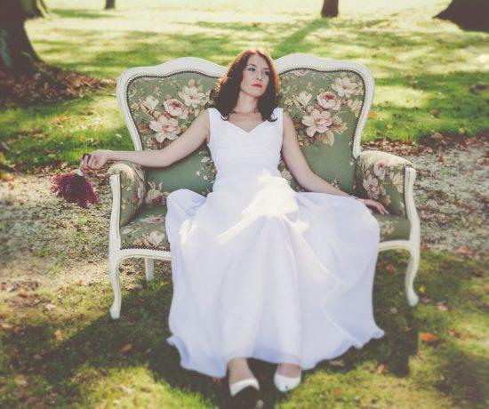 fotografia ślubna portret panny młodej