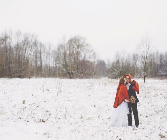 plener ślubny zimą, fotografia ślubna poznań