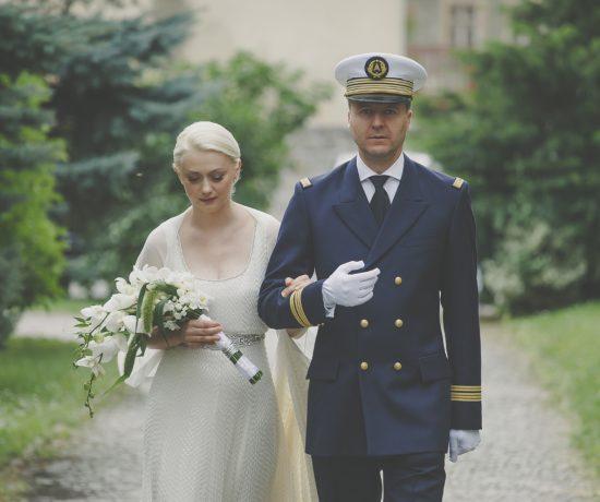 Mariage élégant en Pologne