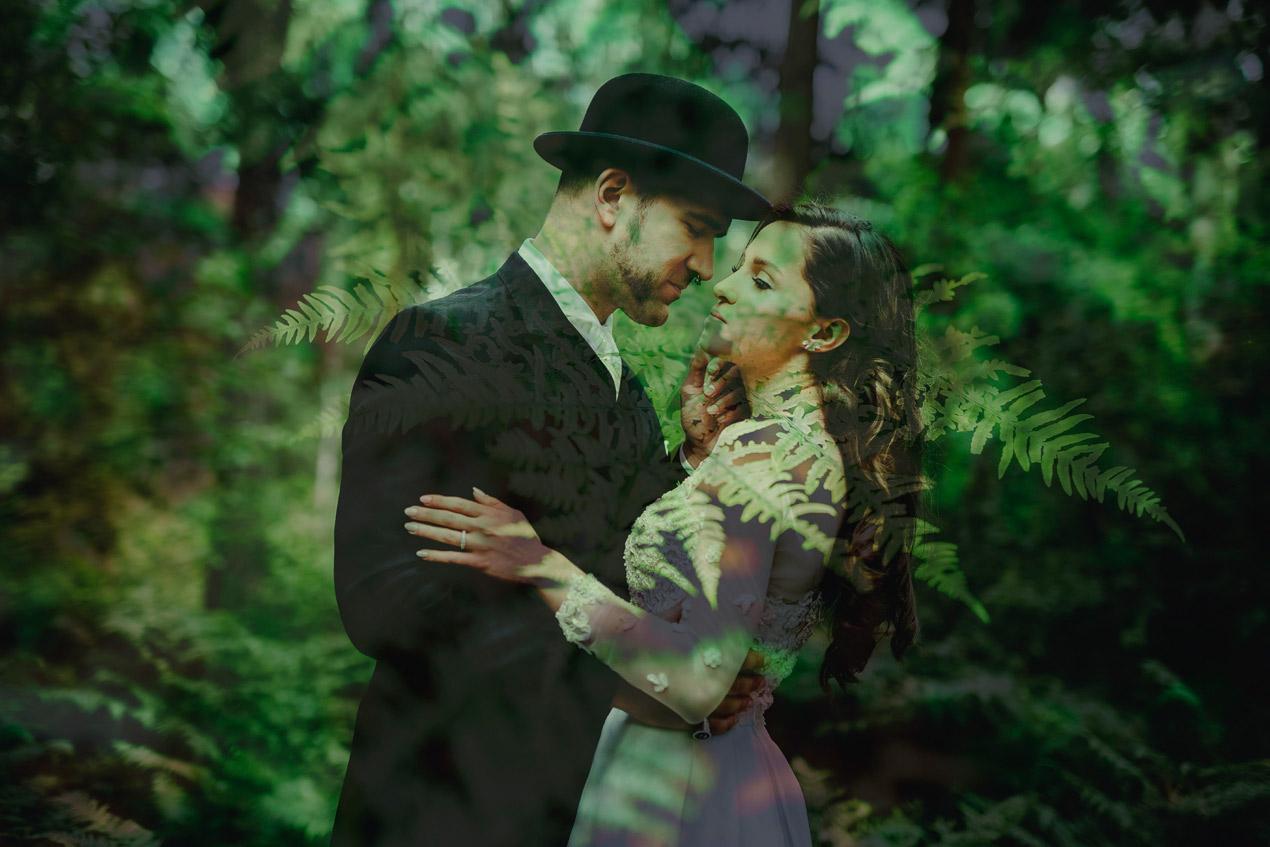 fotografia ślubna sesja w lesie, fotografia ślubna, fotograf ślubny, zdjęcia ślubne poznań, fotografia i film ślubny