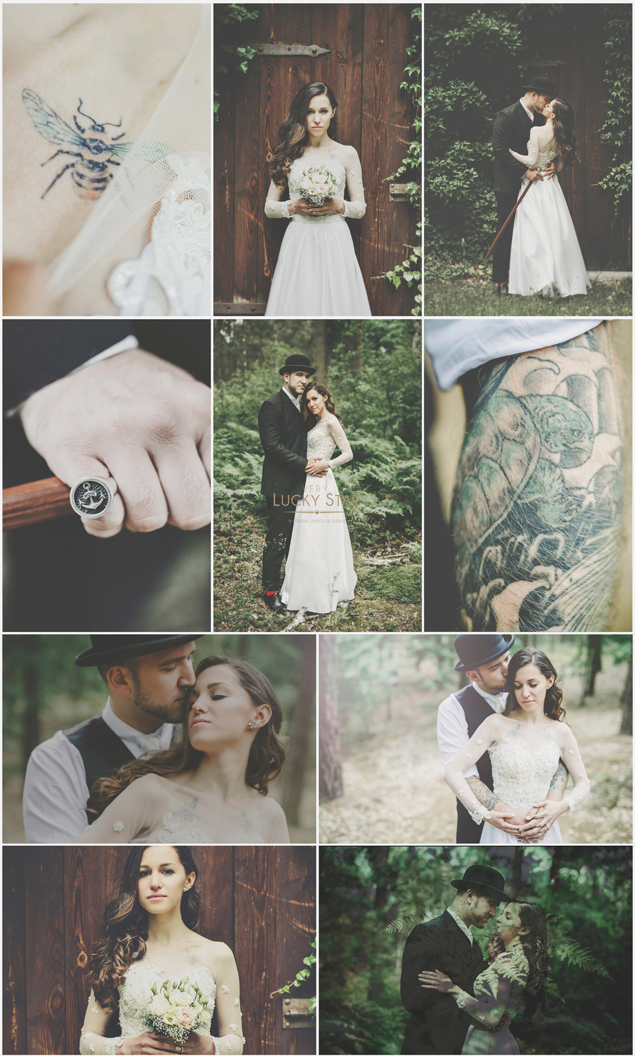 Boho-Vintage-Whimsical-Wedding-Ślub-Fotografia