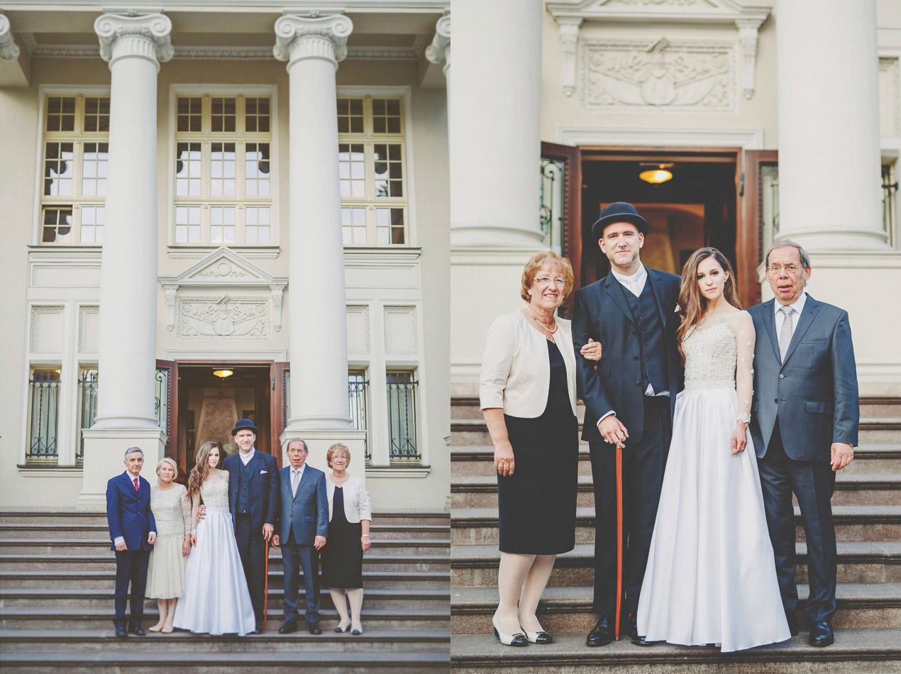 Pałac Tłokinia, ślub, wesele, zdjecie rodzinna
