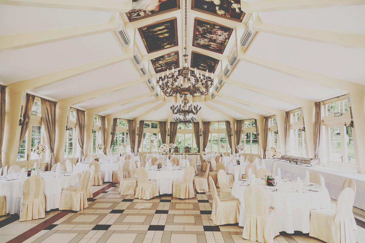 Pałac Tłokinia, ślub, wesele, sala