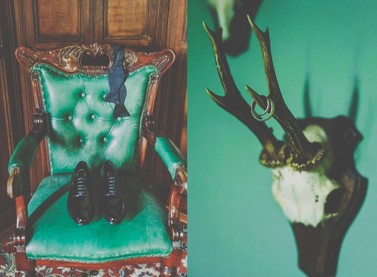 Pałac Wąsowo wesele, pan młody, przygotowania, buty