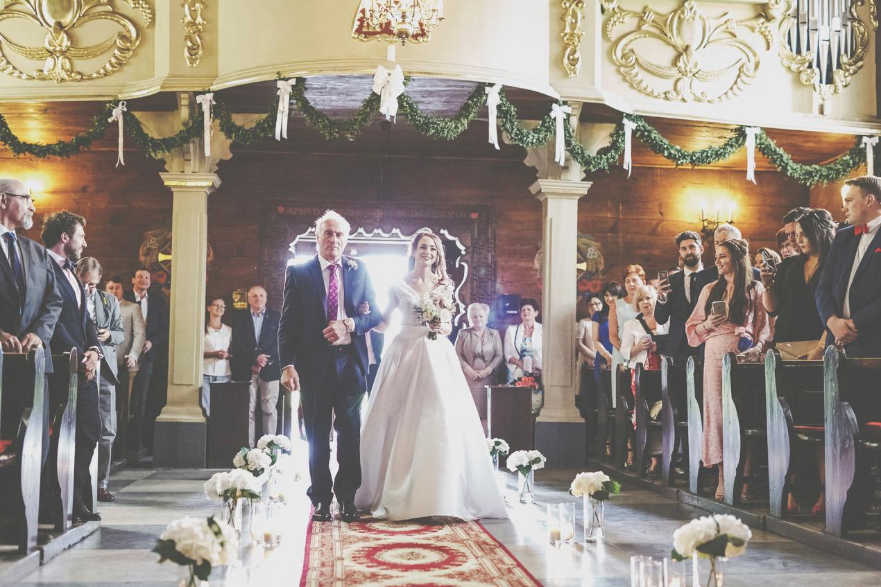 Pałac Wąsowo, ślub i wesele, kościół