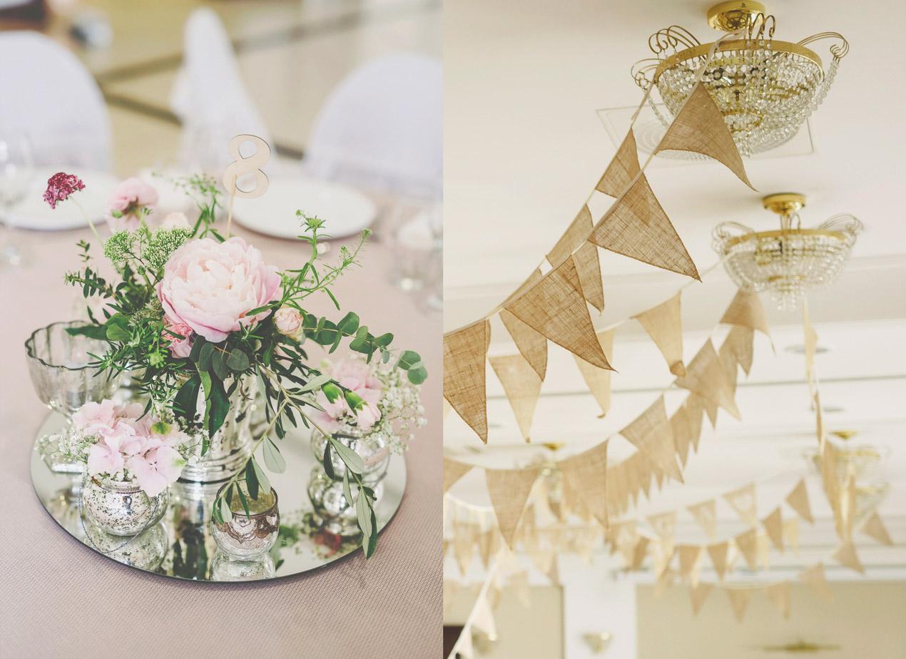 Pałac Wąsowo, ślub i wesele, dekoracje ślubne, kwiaty, dekoracja sali