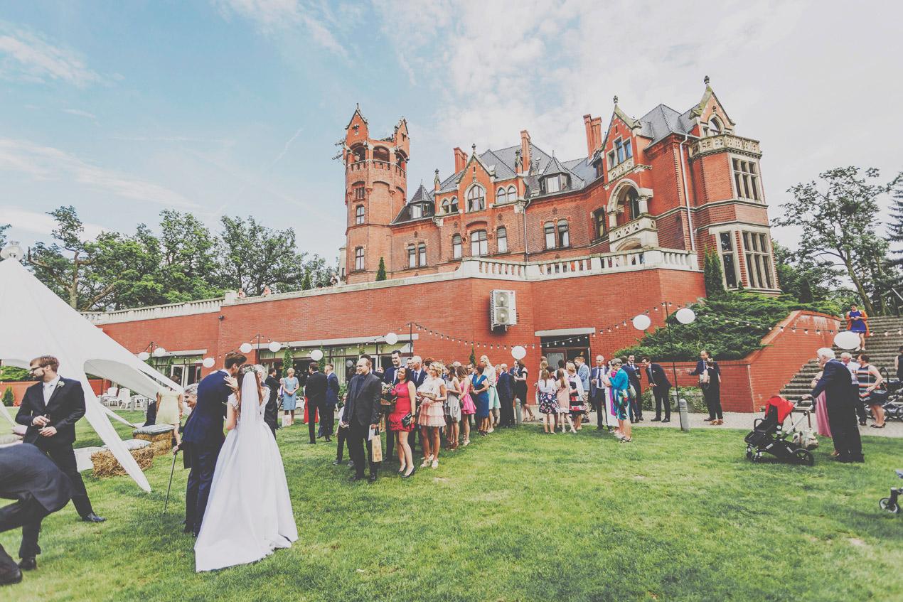 Pałac Wąsowo, wesele, życzenia