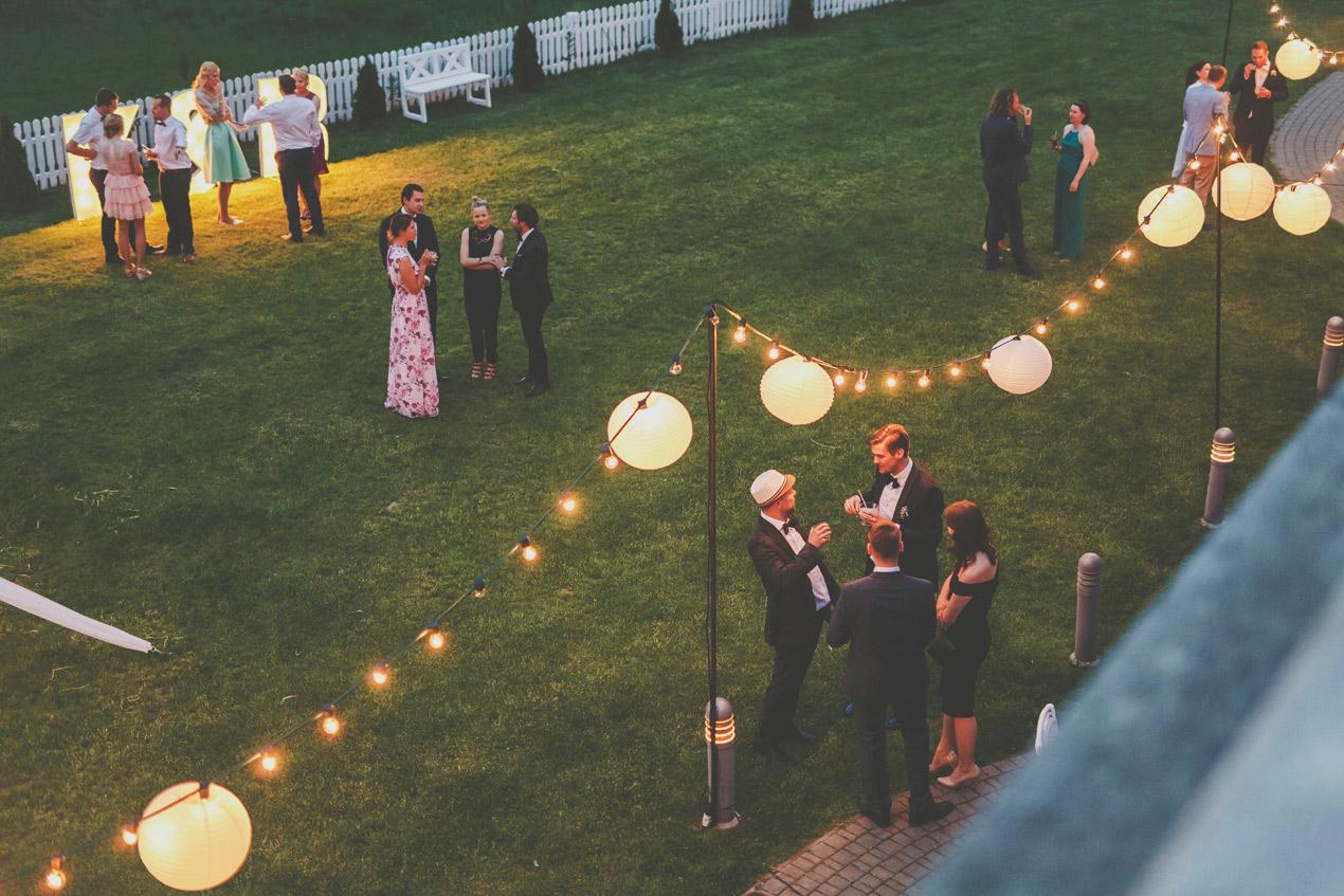 Wąsowo wesele fotograf, reportaż ślubny, lampiony