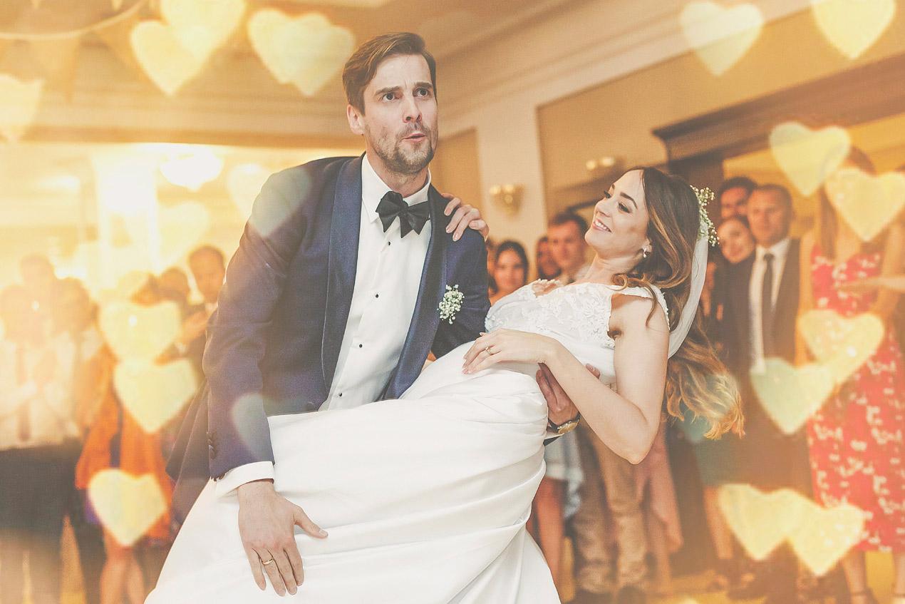 Pałac Wąsowo, pierwszy taniec, wesele, ślub