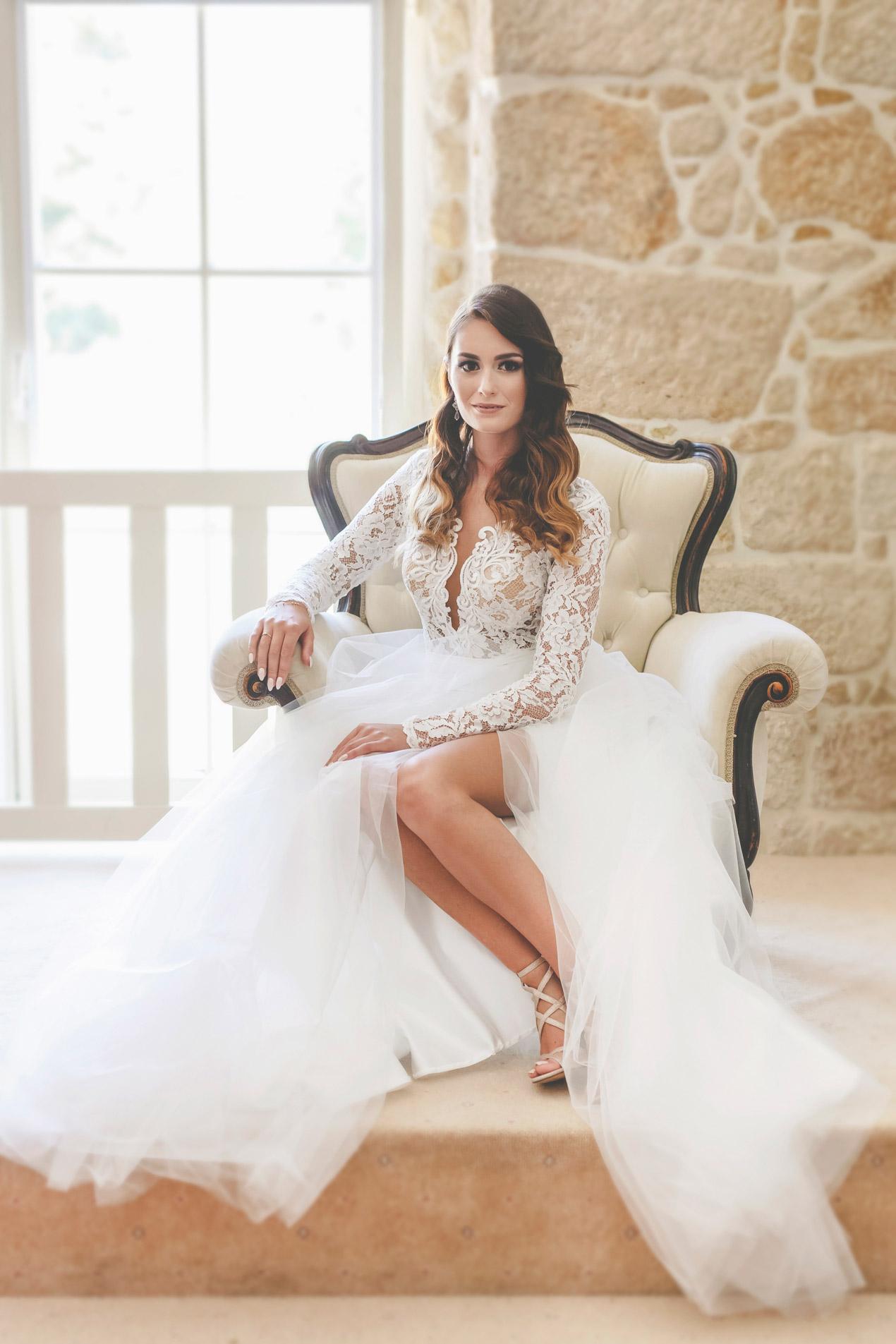 wesele w pałacu brunów, panna młoda