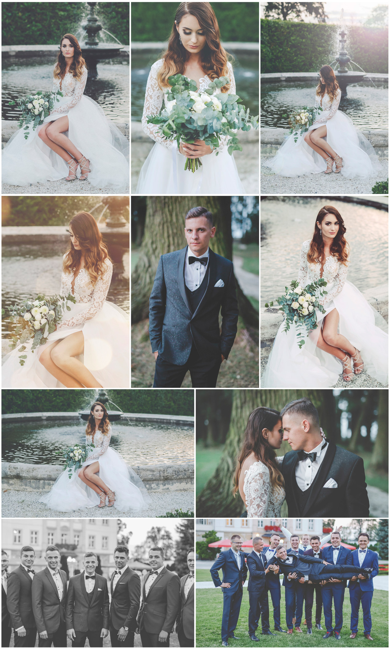 wesele w Pałac Brunów