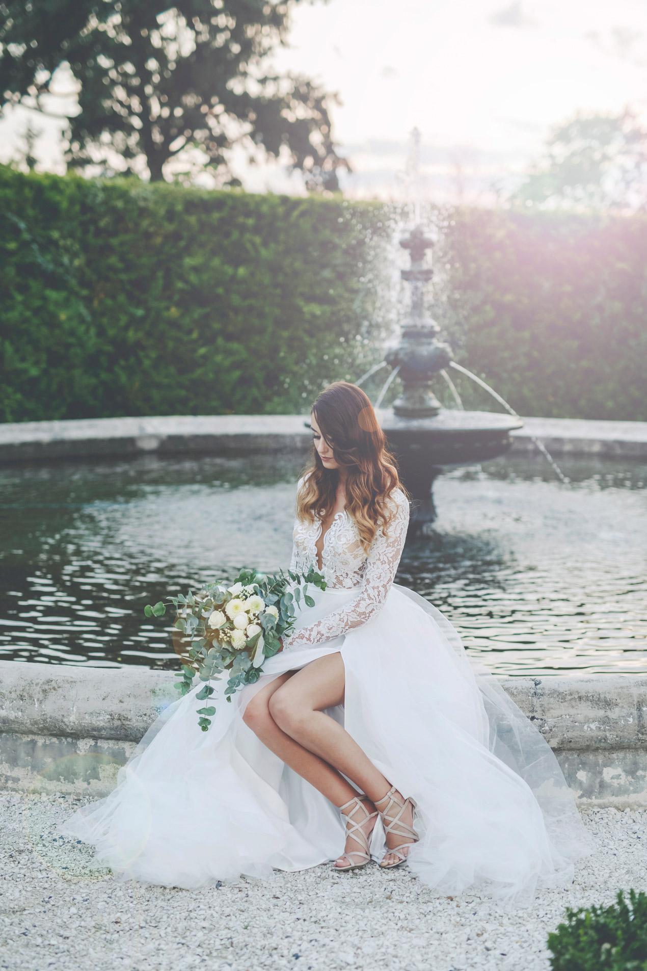 fotografia ślubna plener w dniu ślubu