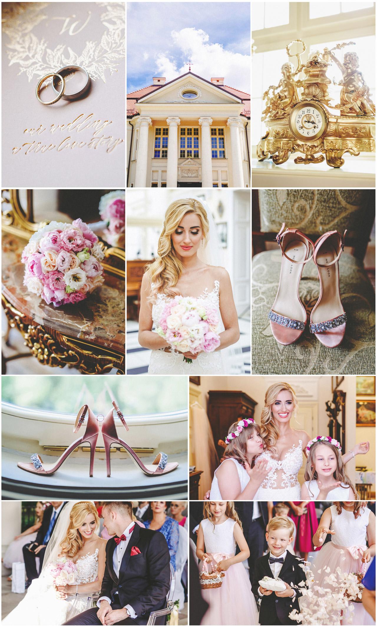 fotografia ślubna, pałac tłokinia, wesele i ślub, ślub w plenerze