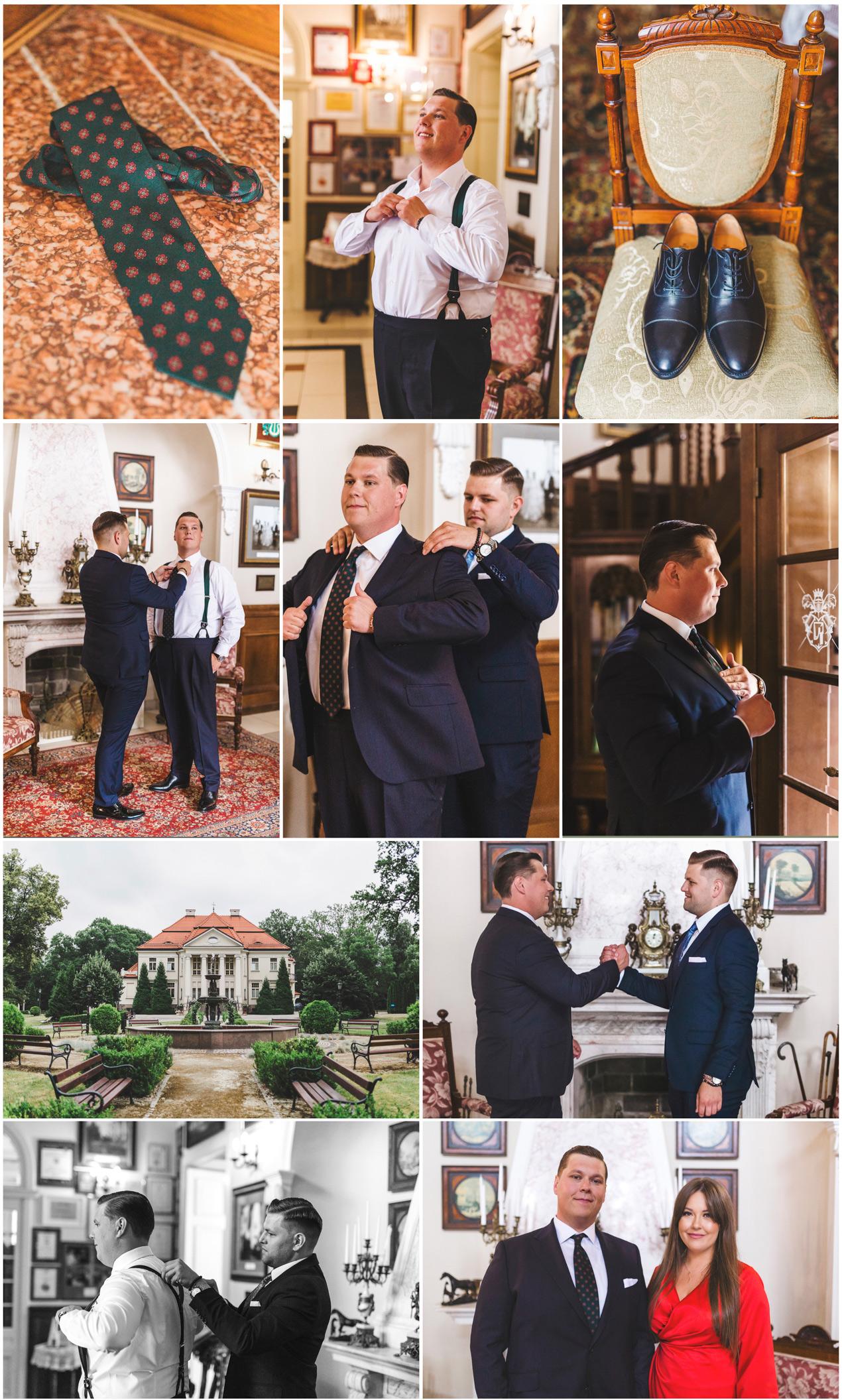 pałac Tłokinia ślub i wesele fotograf ślubny zdjęcia ślubne