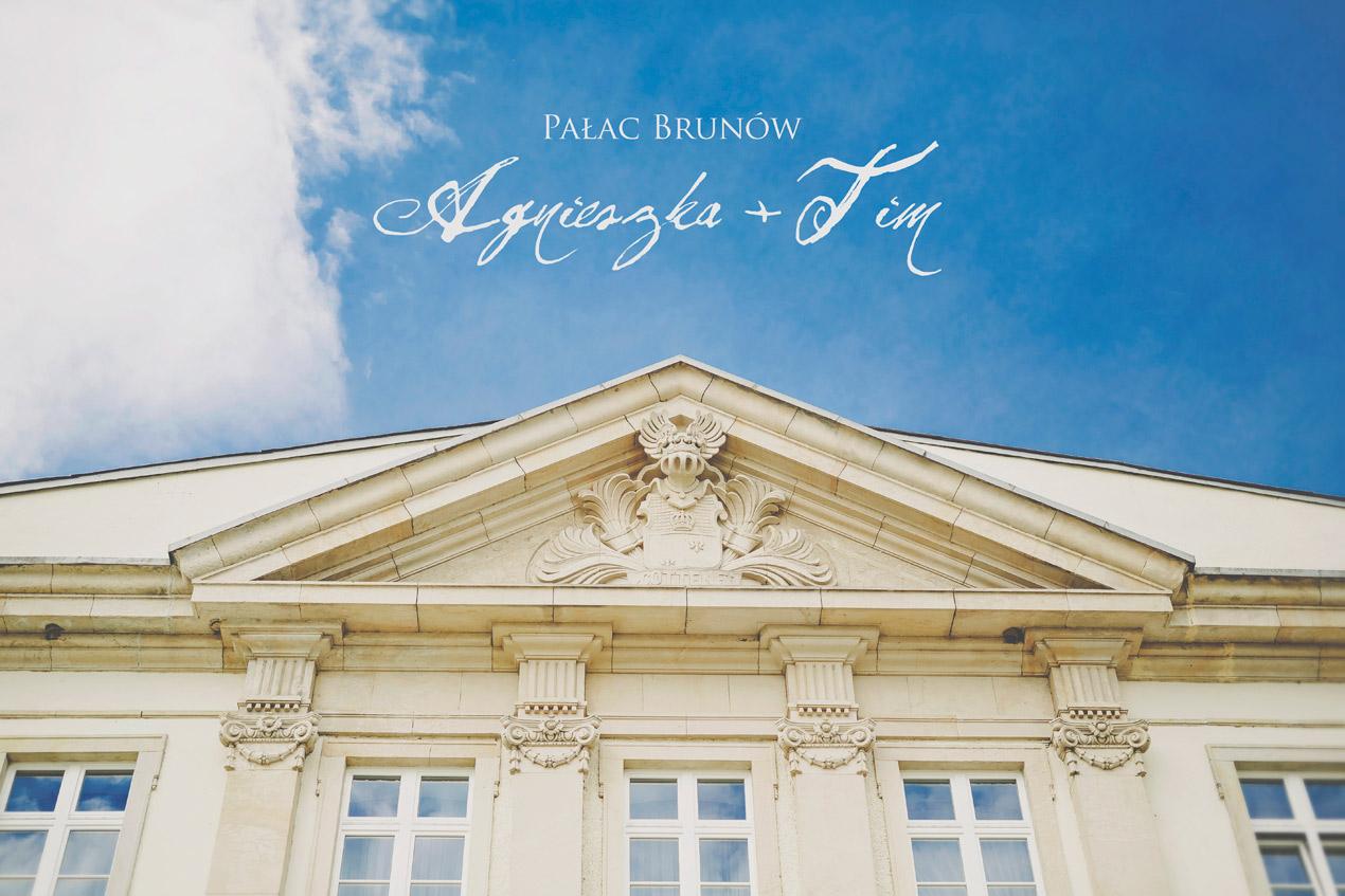 Elegante Hochzeit in Brunów