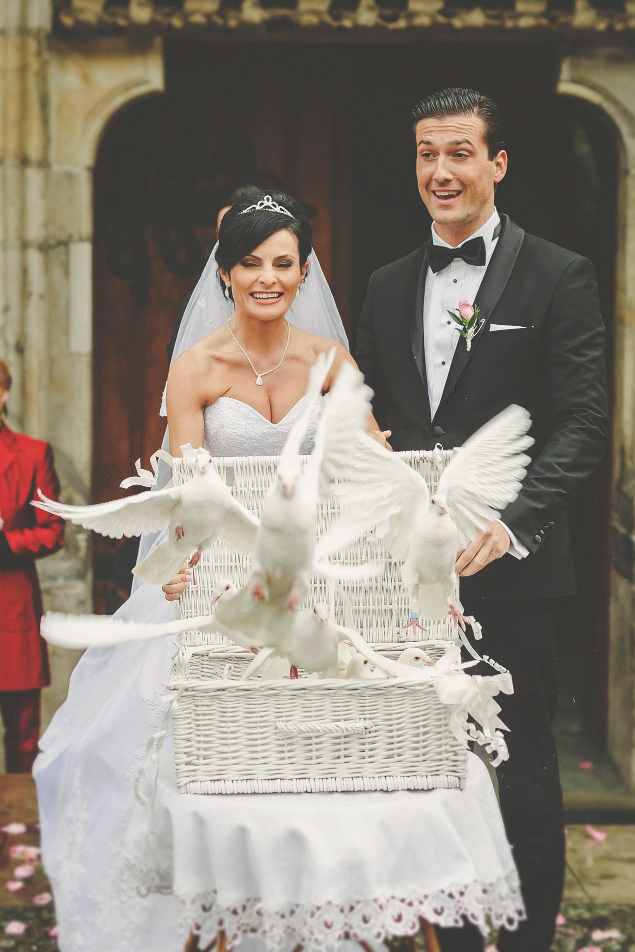 Elegante Hochzeit in Brunów 226a