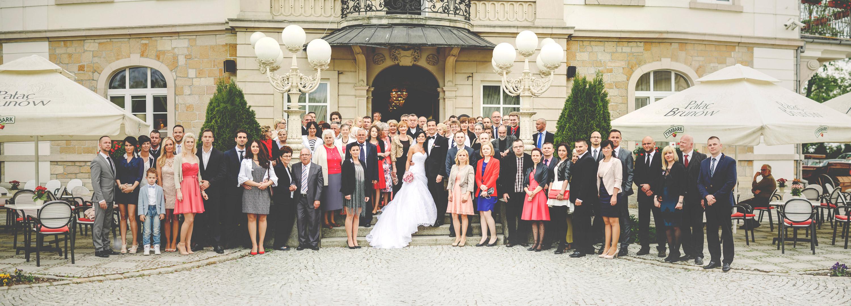 Elegante Hochzeit in Brunów 258