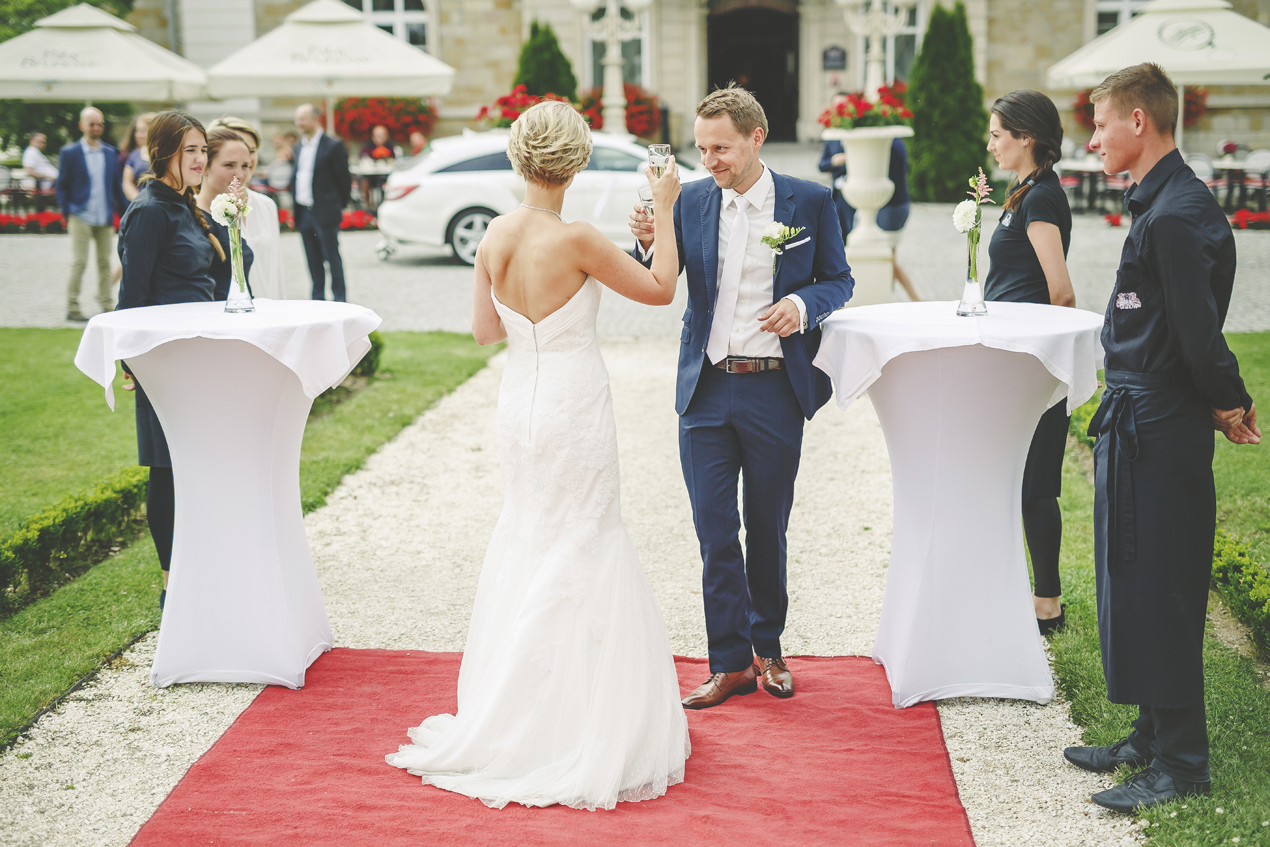 Pałac Brunów przyjęcie weselne w plenerze VeryLuckyStar