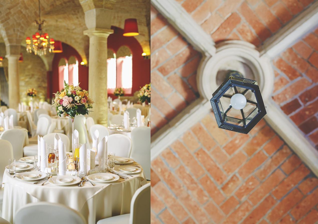 Pałac Brunów, wesele, dekoracje, kwiaty, detale, fotograf ślubny