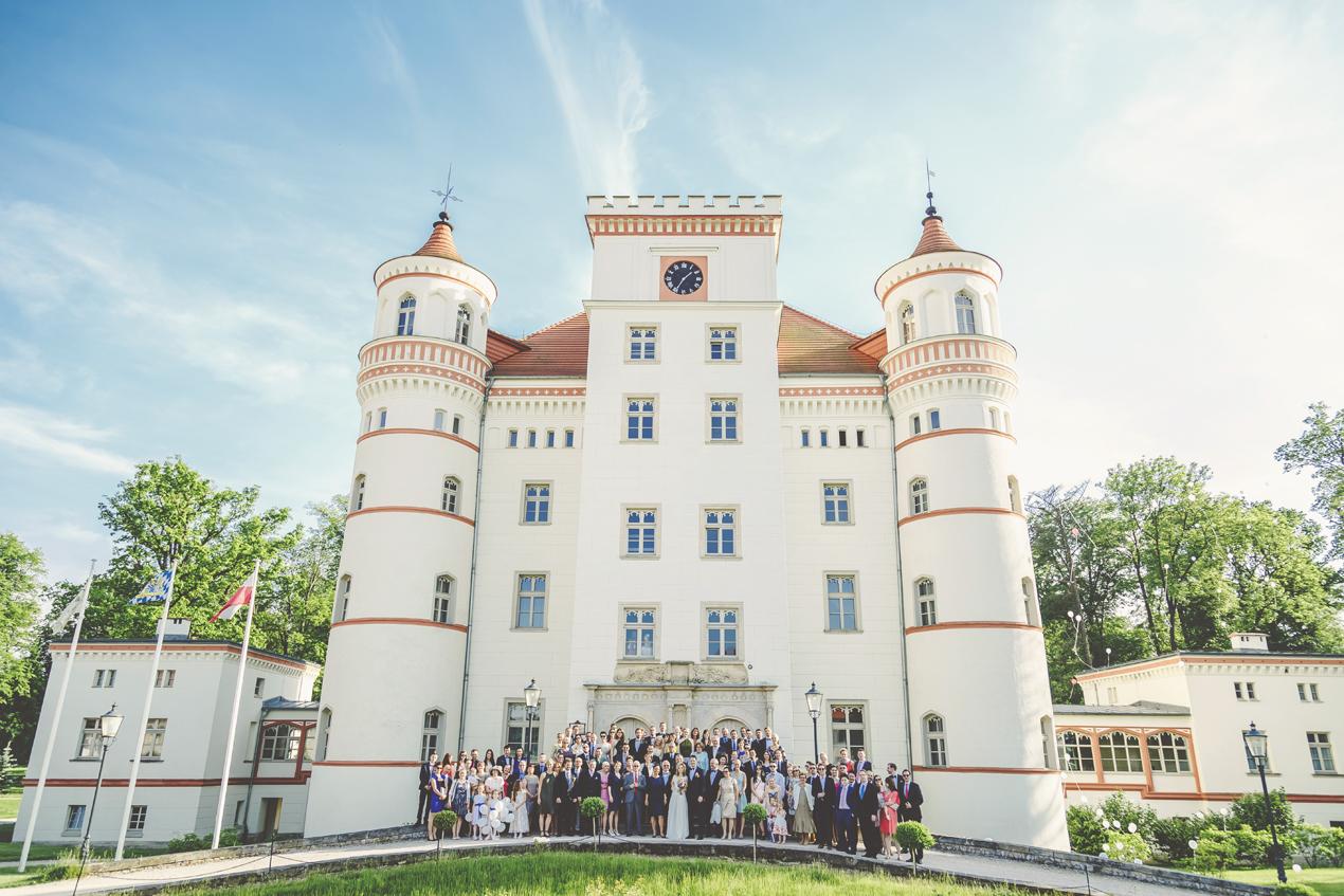 pałac Wojanów wesele