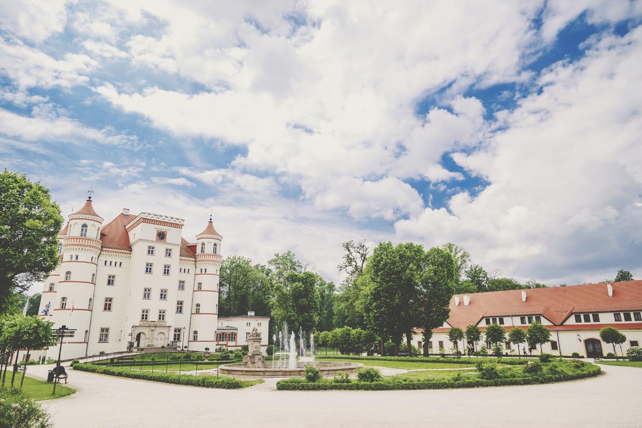 Reportaż ślubny Pałac Wojanów